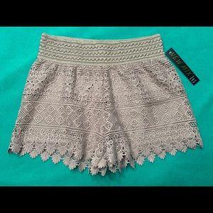 🆕 Dressy Crocheted Shorts